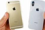 iPhone 6s vs iPhone X
