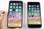 iPhone X vs iPhone 6s Plus