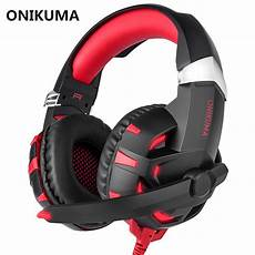 Onikuma Single Stereo Gaming Headset by Onikuma K2 Usb Headset 7 1 Channel Sound Stereo Gaming