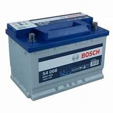 Bosch Starterbatterie S4 008 574 012 068 12v 74ah 680a En