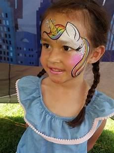 unicorn facepaint aratzengela maquillaje infantil