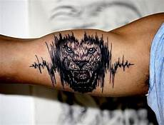 Tattoos Männer Oberarm Innenseite - 30 soundwave designs for acoustic ink ideas