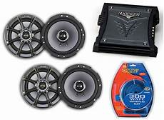 Kicker Car Audio Ks60 Two Way 6 Quot Four Speakers Zx350 2