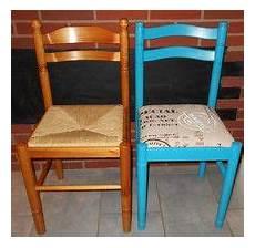 relooker une chaise relooker chaises en paille relooking de chaise