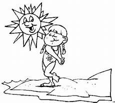 Malvorlagen Kinder Strand Maedchen Am Strand 2 Ausmalbild Malvorlage Jahreszeiten