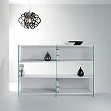 scaffali in vetro libreria a giorno design in vetro e legno 180 x 125 cm