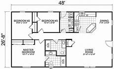 home 28 48 3 bed 2 bath 1280 sq ft little house the trailer