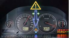 reset time for regular service volvo s80 2002 2006 reset