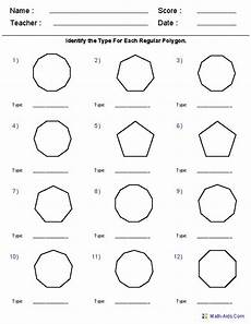 worksheets polygons and quadrilaterals 1025 17 best images about math polygons on activities shape and geometry