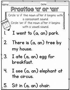 articles grammar worksheets for grade 1 25170 articles a an the grade word family worksheets worksheets for sight