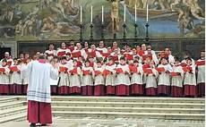 carime lecce coro della cappella sistina foto giorno corriere