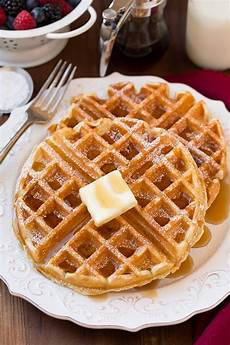 The Best Belgian Waffle Recipe Cooking