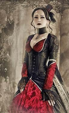steunk gothic ladies beauty fashion costume