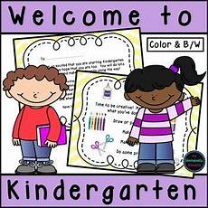 letter orientation worksheets 23256 kindergarten orientation welcome letter activities checklist and more welcome to