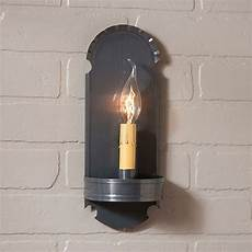 country tin handcrafted electric wall sconce light nice ebay