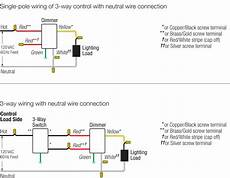 single pole dimmer switch wiring diagram volovets info