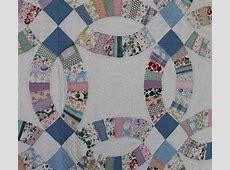 Bargain John's Antiques   Antique Quilt Double Wedding