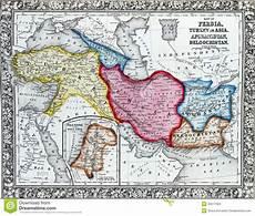 chi erano i persiani antique map of turkey in asia stock illustration