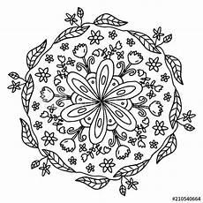 Malvorlage Blumen Mandala Quot Mandala Blumen Quot Stockfotos Und Lizenzfreie Vektoren Auf
