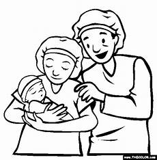 baby coloring pages page 1