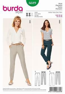 Womens Trousers Burda Sewing Pattern 6689 Sew Essential