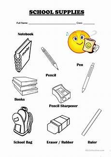 worksheets school supplies 18456 vocabulary school supplies worksheet free esl printable worksheets made by teachers