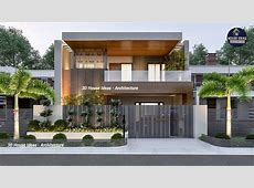 Top 20 home front Elevation   Double Story   Modern home