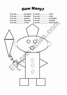 shape worksheet esl 1342 shapes and numbers esl worksheet by ramonaecono