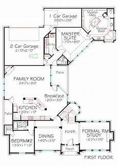 rear entry house plans first floor plan 3316 sqft 4 bedrooms 3 bath 3 car rear