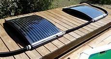 branchement chauffage solaire piscine hors sol panneau solaire modulosol