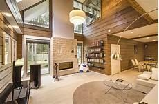 Design D Interieur D Une Maison En Bois Moderne Du Style