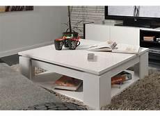 table basse carrée blanc laqué table basse carree blanc laque