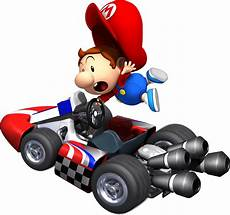 Mario Kart Wii Artwork Including A Selection Of
