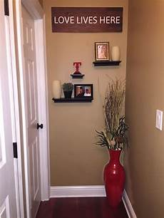 Home Entrance Wall Decor Ideas by Idea To Decorate The End Of A Hallway Floating