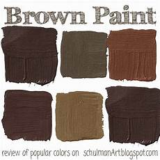 the top 7 popular brown paint colors schulman art