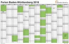 Faschingsferien Baden Württemberg 2017 - ferien baden w 252 rttemberg 2018 ferienkalender zum ausdrucken