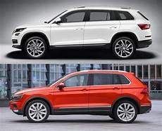 Skoda Kodiaq Vs Volkswagen Tiguan Comparison Of Price