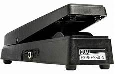 ehx expression pedal electro harmonix dual expression pedal