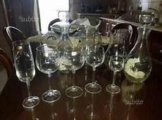 bicchieri di cristallo di boemia bicchieri cristallo boemia con bordo oro posot class