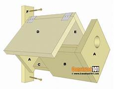 easy bluebird house plans simple bluebird house plans construct101