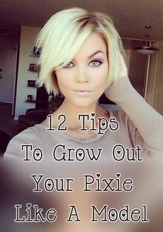 12 tips to grow out a pixie like a model stylesaturday short hair pixies pinterest
