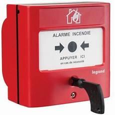 prix alarme incendie legrand d 233 clencheur manuel pour 233 quipement d alarme