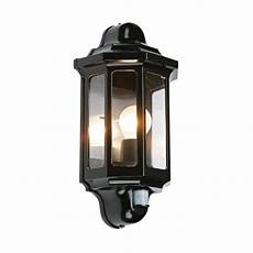 traditional garden wall light with pir motion sensor great security