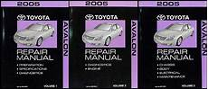 accident recorder 2005 toyota avalon free book repair manuals 2005 toyota avalon wiring diagram manual original