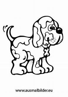 Ausmalbilder Tiere Hunde Ausmalbild Fleckiger Hund Zum Ausdrucken