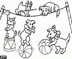 ausmalbilder zirkus akrobaten malvor