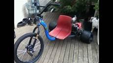motorized huffy slider 49cc drift trike