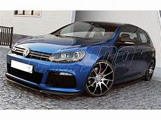 golf 6 r tuning teile vw golf 6 r c look front bumper extension