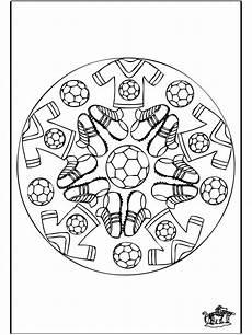 Malvorlage Mandala Fussball Ausmalbilder Mandala Fu 223 08 Con Im 225 Genes Mandalas