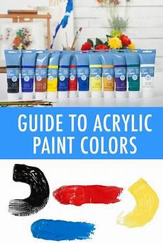 the guide to basic acrylic paint types acrylic painting tips acrylic art painting